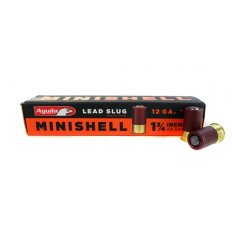 "Aguila Minishell 12 Gauge Rifled Slug 1-3/4"" 7/8 oz- 1C128974"
