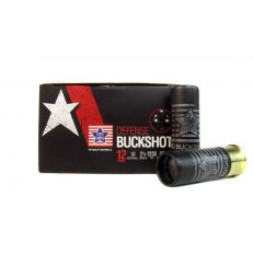 "Stars and Stripes 12 Gauge 2-3/4"" 00 Buckshot 9 Pellets-  CBUCK9"