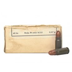 Military Surplus 7.62x25 Tokarev 86 Gr. Full Metal Jacket- Box of 40 AM2963A