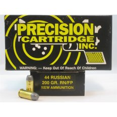 PCI .44 Russian  200 Gr. Round Nose Flat Point- Box of 50