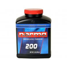 Norma 200 Smokeless Powder- 1 Lb. (HAZMAT Fee Required)
