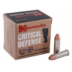 Hornady Critical Defense .38 Special 110 Gr. FTX- Box of 25